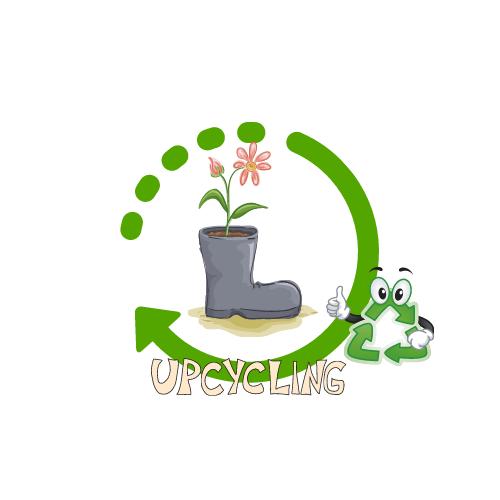 Upcycling Tipp – Gartenschlauchhalterung